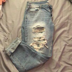 Hollister Jeans - Hollister distressed boyfriend jeans